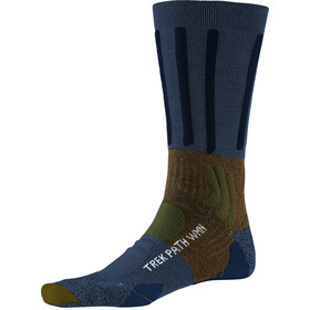 X-Socks Trek Path Socks Damer, midnight blue/walnut brown
